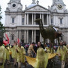 Parading With Camels in Lord Mayor's Show