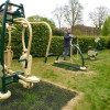 Friends of Library Promote Well-being in Mind and Body with Outdoor Gym