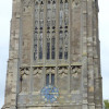 The clock of St Peter's Church