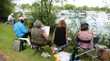 Art is for everyone at Oundle Art group