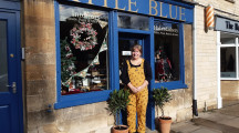 Eclectic styling and haberdashery at Little Blue