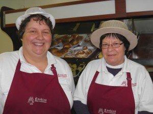 Tracy Upex and Elaine Spooner, Bakers, Cookies Bakery