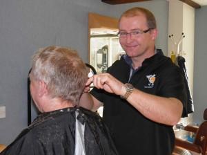 Richard Skillen, Barber, Oundle Barber
