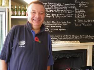 Alan Smith, Café Owner, Smiths at No 4