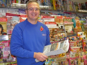 Chris Cant, Newsagent, Oundle News