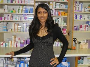Dipti Somani, Pharmacist, Oundle Pharmacy