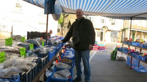 Russ sells pet food and has been in the market for over ten years.