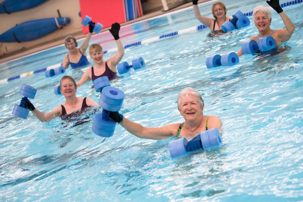 keep fit at the oundle school pool