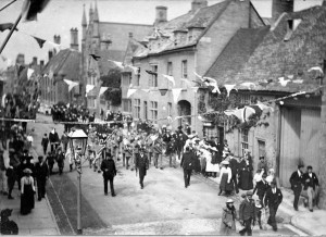 Celebrating the coronation of King George in 1911