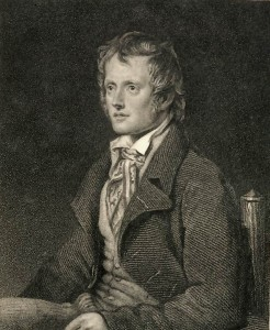 Portrait of John Clare from 1821
