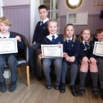 Pupils from the Malcolm Sargent Primary School in Stamford competed in the Year 3 Verse Speaking class