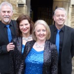 The Mixed Quartet from Peterborough competed in the Barbershop Quartet class