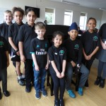 These competitors from Peterborough and Bourne  performed in the Solo Song class