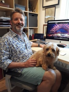 Spud is a helpful home office companion for Simon Page
