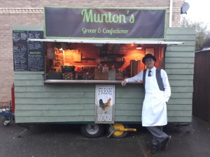 Gary Bennett-Munton sourced his catering trailer from Pembrokeshire