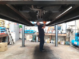 Steven Shaw has been working at Oundle Tyre and Exhaust for over ten years.
