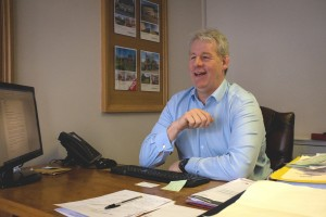 Chris at Woodford's Estate Agents