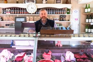 Jim at Trendalls Butchers