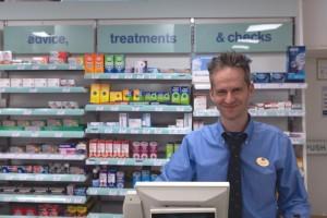 David at Boots Pharmacy