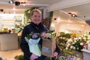 Sandy at Milestones Florist